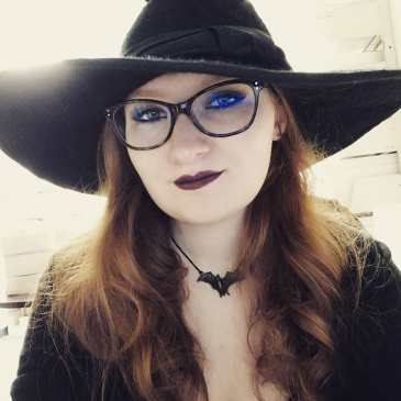Me in witch hat.