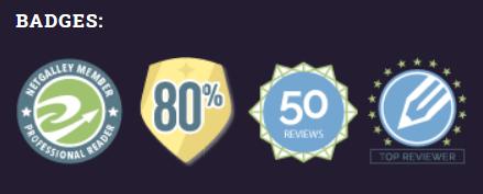 Netgalley badges