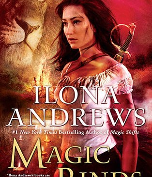 Cover for Magic Binds by Ilona Andrews