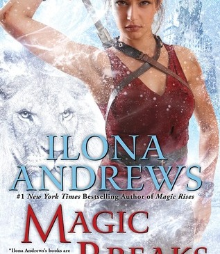 Cover for Magic Breaks by Ilona Andrews
