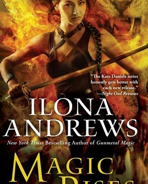 Cover for Magic Rises by Ilona Andrews
