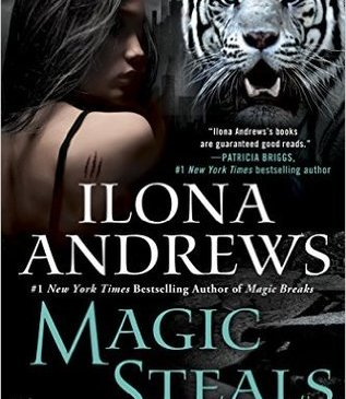 Cover for Magic Steals by Ilona Andrews