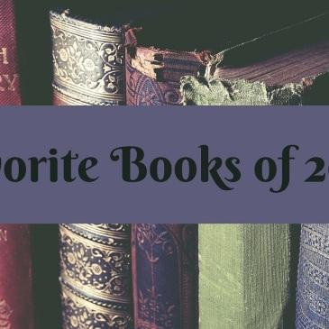 Banner for Favorite Books of 2020