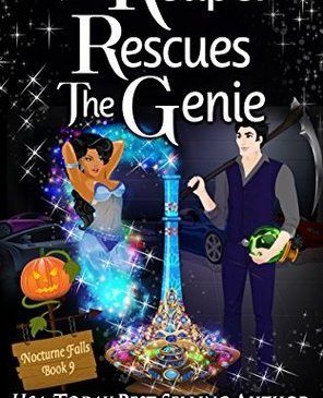 Cover for The Reaper Rescues the Genie by Kristen Painter