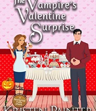 Cover for The Vampire's Valentine Surprise by Kristen Painter