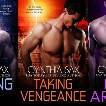 Covers for Cyborg Sizzle Books 8-9.6 by Cynthia Sax