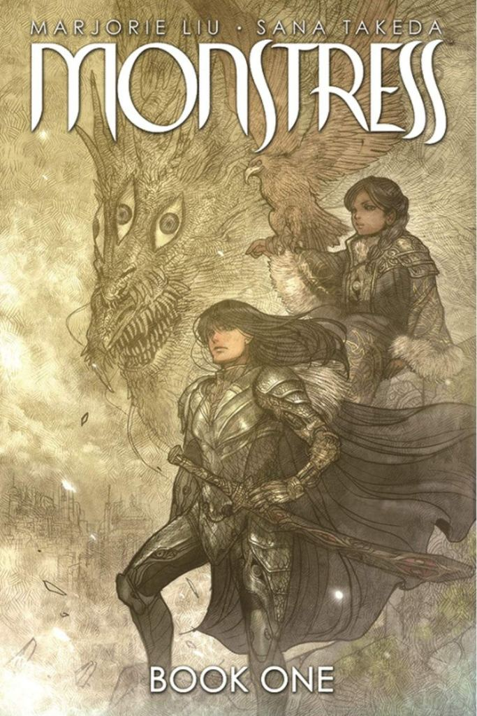 Monstress Book One by Marjorie Liu