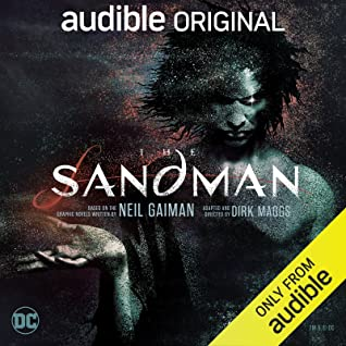 Cover for The Sandman by Dirk Maggs and Neil Gaiman