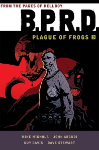 B.R.P.D. Plague of Frogs 3 by Mike Mignola