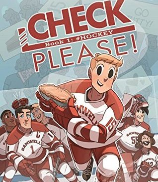 Cover for Check, Please! Book 1: #Hockey by Ngozi Ukazu