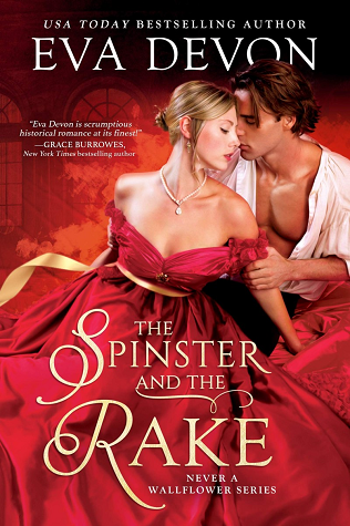 Cover for The Spinster and the Rake by Eva Devon