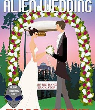 Cover for My Big Fat Alien Wedding by Fiona Roarke