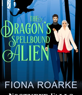 Cover for The Dragon's Spellbound Alien by Fiona Roarke