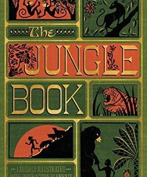 Cover for The Jungle Book by Rudyard Kipling