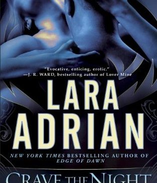 Cover for Crave the Night by Lara Adrian