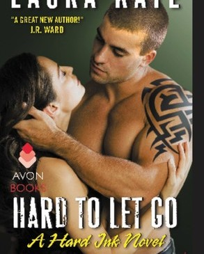 Cover for Hard to Let Go by Laura Kaye