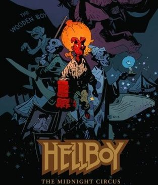 Cover for Hellboy: The Midnight Circus by Mike Mignola