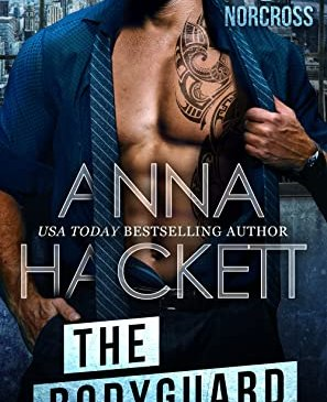 Cover for The Bodyguard by Anna Hackett