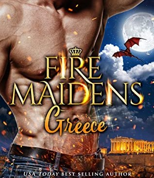 Cover for Fire Maidens: Greece by Anna Lowe