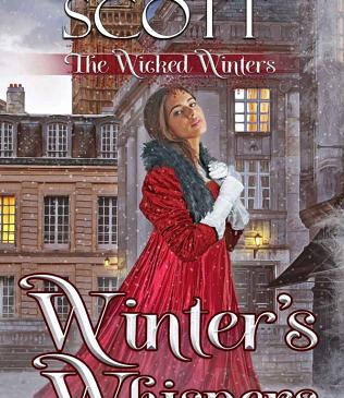 Cover for Winter's Whispers by Scarlett Scott