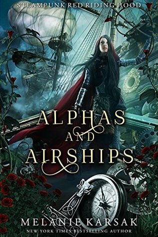Cover for Alphas and Airships by Melanie Karsak