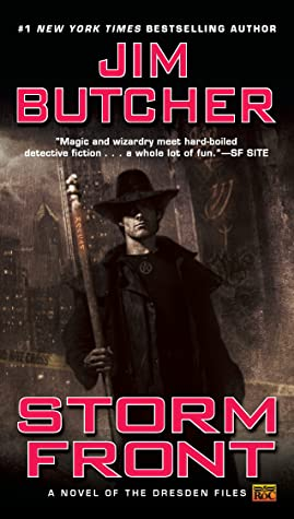 Cover for Storm Front by Jim Butcher
