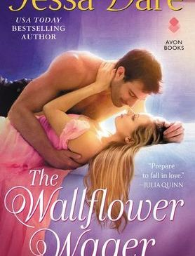 Cover for The Wallflower Wager by Tessa Dare