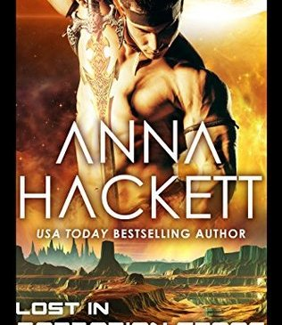 Cover for Lost in Barbarian Space by Anna Hackett