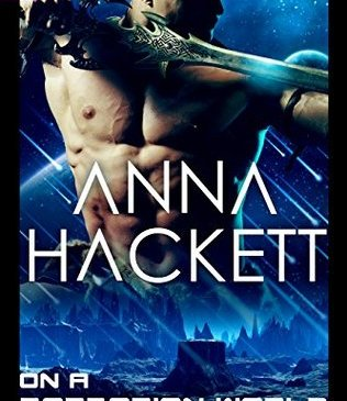 Cover for On a Barbarian World by Anna Hackett