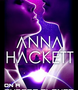 Cover for On a Cyborg Planet by Anna Hackett