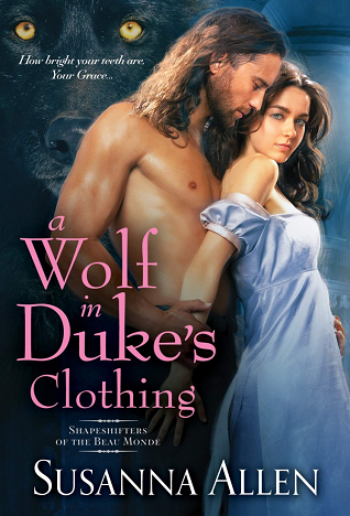 Cover for A Wolf in Duke's Clothing by Susanna Allen