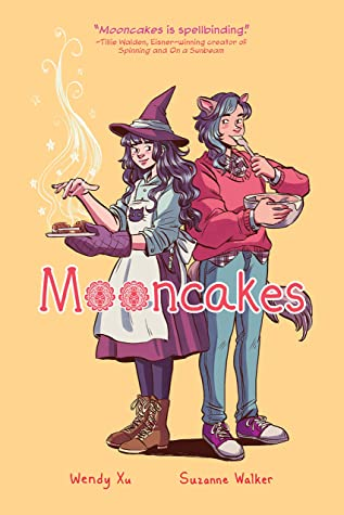 Cover for Mooncakes by Wendy Xu and Suzanne Walker