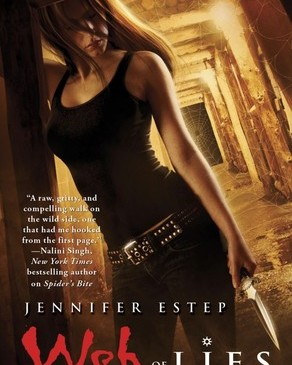 Cover for Web of Lies by Jennifer Estep